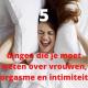 Vijf dingen die je moet weten over vrouwen, orgasme en intimiteit